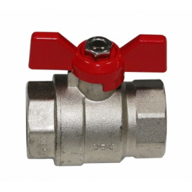 Ibp Conex ball valve 3/4 FF, with butterfly handle