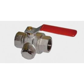 Ball valve 1FF, with mud trap, 400mkr, EH61