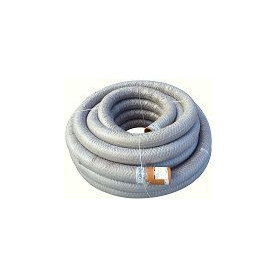 PVC drainage pipe, with geotextile filter 58/50