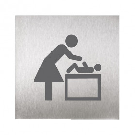 Sanela SLZN 44S pictogram, baby changing room