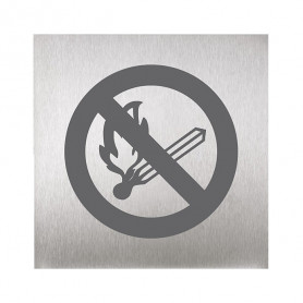 Sanela SLZN 44N pictogram, no open fire
