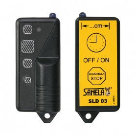 Sanela SLD 03 Remote control for an adjustment of parameters of all products with infra-red sensor