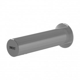 Sanela SLU 43KB wall-mounted tap, for cold or premixed water, chrome, 6V