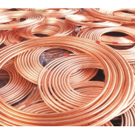 Silmet soft copper pipe MEDICAL D8x1mm, EN13348, without insulation