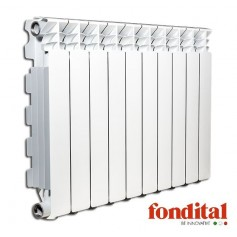 Fondital alumīnija radiators 500x16sekc. balts Exclusivo