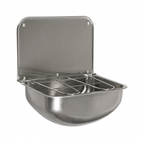 Sanela SLVN 05 stainless steel wall mounted sink