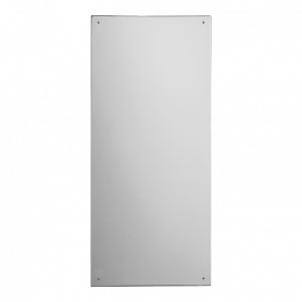 Sanela SLZN 55 stainless steel mirror, 900x400mm