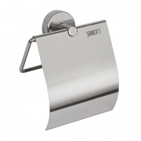 Sanela SLZN 09 stainless steel toilet paper holder, polished