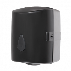 Sanela SLDN 02N supply bin, for coil of paper towels, material black plastic ABS