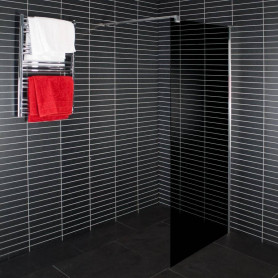 Duschy shower wall 100x190cm, tinted glass, 1pc, 5222-100