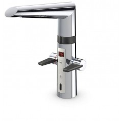 Oras Optima 2722F Kitchen mixer with two levers with sensor +temperature display