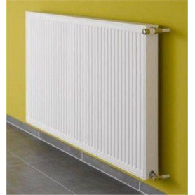 Kermi steel radiator with side connection 22 400x 400