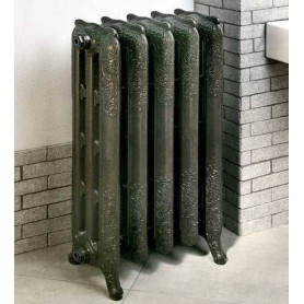 Cast iron heating radiator 600/180 Retro Lux 6 sections, with legs
