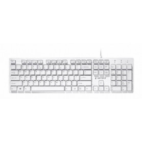 Gembird Chocolate Keyboard USB US White, 8716309104807