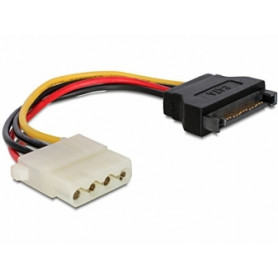 Gembird SATA Male - MOLEX Female Cable 0.15m kabelis