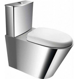 Faneco UR2A stainless steel WC toilet bowl, wall outlet