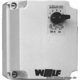 Wolf 5-step control switch E5-3, 3A, 2740006
