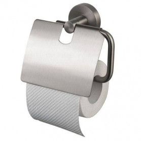 Haceka Kosmos TEC toilet paper holder with cover 402413