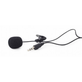Gembird Clip-on 3.5mm Microphone Black