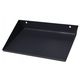 Harvia Drip tray 430x265 wall, black, SAA00100