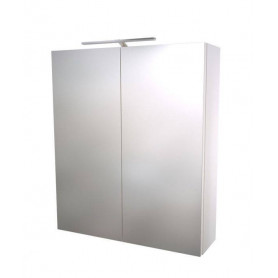 Raguvos Baldai Scandic bathroom mirror cabinet 60cm, white, without lighting