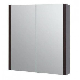 Raguvos Baldai Serena bathroom mirror cabinet 75cm 1400401, black oak