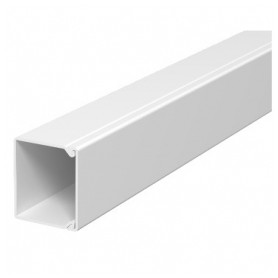 Obo Betterman cable protection channel WDK 40x40mm, RAL9010, white, 36m/package (lenght 2m, price for 1m)