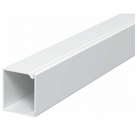 Obo Betterman cable protection channel PVC 30x30mm, RAL9101, white, 40m/package (lenght 2m, price for 1m)