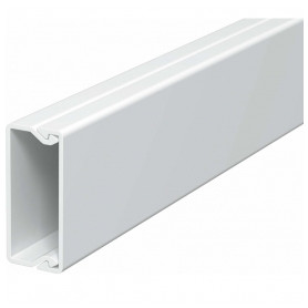 Obo Betterman cable protection channel PVC 15x40mm, RAL9010, white, 32m/package (lenght 2m, price for 1m)