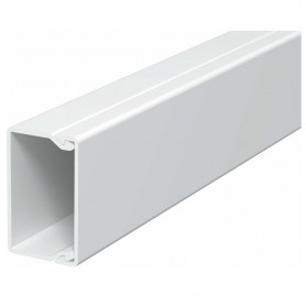Obo Betterman cable protection channel PVC 25x40mm, RAL9010, white, 24m/package (lenght 2m, price for 1m)