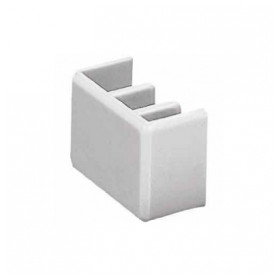 Hager end cap, for 3 phase bus KZN023, 10pcs/package