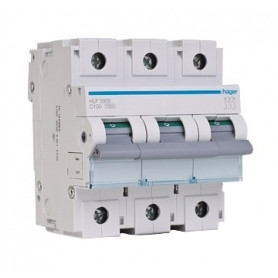 Hager automatic switch 3P C100A 10kA (Icn) HLF90S