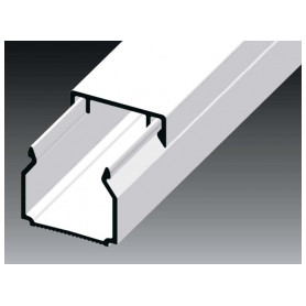 Kopos cable protection channel 20x20mm LHD HD, white, in protective film (lenght 2m, price for 1m)