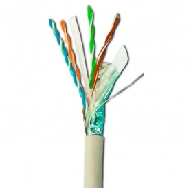 Elan data cable 4x2x0.5mm AWG24 FTP Cat5e, 305m