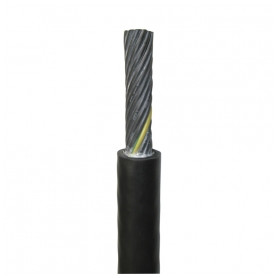 Faber electricity cable NSHTOEU-J 12x1.5mm², with rubber insulation, flexable, black 0.6/1kV, from roll