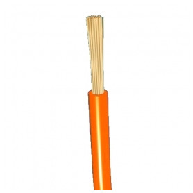 Other flexable electricity cable H05V-K 1x0,75mm², orange Eca, 100m