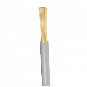 Top Cable flexable electricity cable H07V-K 1x1.5mm², gray 0.45/0.75kV, 100m