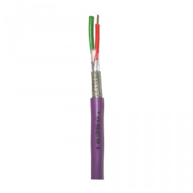 Faber Profibus data cable 1x2x0.64mm 2Y(St)CY VL, purple, from roll