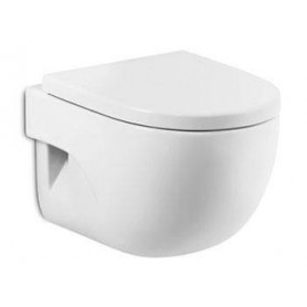 Roca Meridian Compact hanging WC toilet bowl, white 7346248000