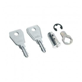 Hager handle mounted switchboard cabinet lock Volta, with key