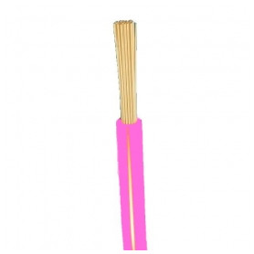 Other flexable electricity cable H05V-K 1x1mm², pink Eca, 100m