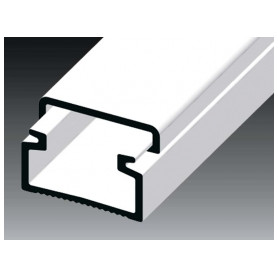 Kopos cable protection channel 15x10mm LH HD, white (lenght 2m, price for 1m)