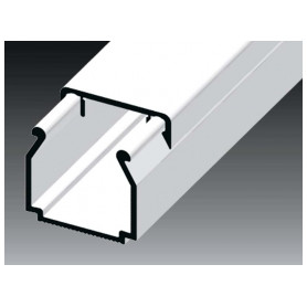 Kopos cable protection channel 17x17mm LHD HD, white, in protective film (lenght 2m, price for 1m)
