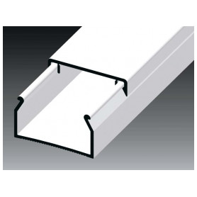 Kopos cable protection channel 25x15mm LHD HD, white (lenght 2m, price for 1m)