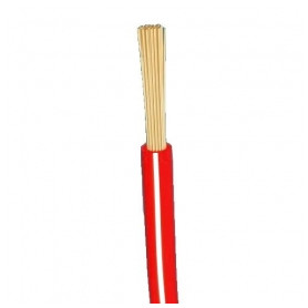 Other flexable electricity cable H05V-K 1x1mm², red/ white Eca, 100m