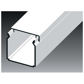Kopos cable protection channel 40x40mm LHD HD, white, in protective film (lenght 2m, price for 1m)