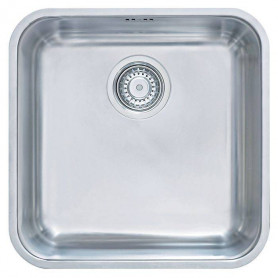 Franke BMX110-40 under surface mounted kitchen sink, with outlet, pop-up 122.0014.397