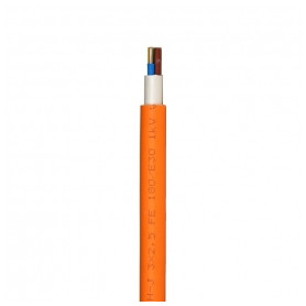 Faber outdoor electricity cable NHXH-J E30 plus 3x1.5mm², fireproof, orange 0.6/1kV, from roll