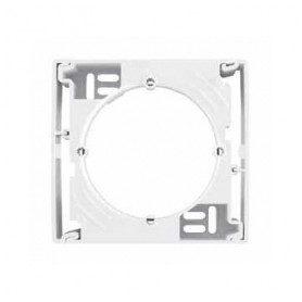 Schneider Electric surface mounted 1-slot box Sedna Pro, for concealed units, white, SDN6100121