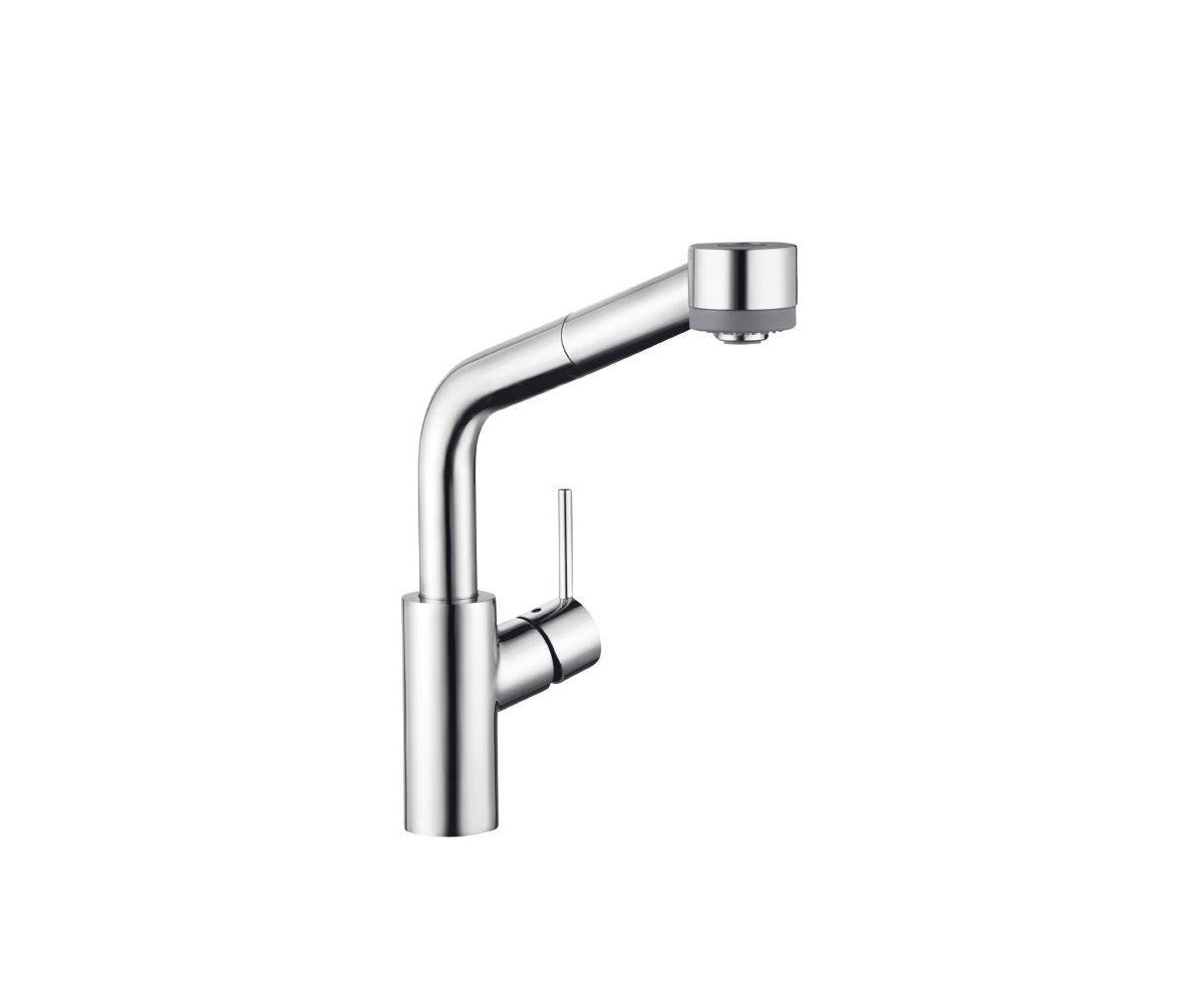 Hansgrohe Talis kitchen mixer, SemiArc, with pull out shower, 32856000